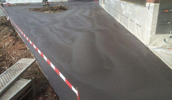 Beton Storten Tuin : Betonvloer buiten bbm vloeren dé vloerenspecialist