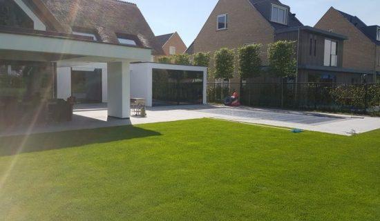 betonvloer tuin