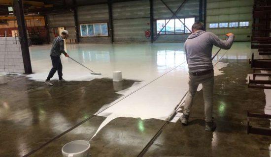 coating bedrijfshal