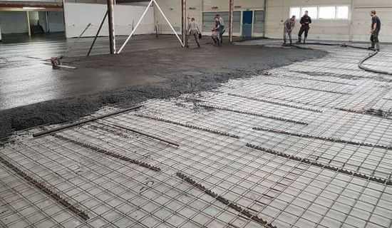 wapening betonvloer